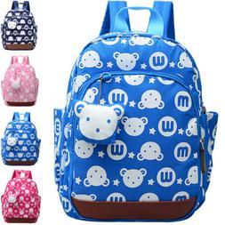 Toddler Kids Children Anti-lost Cartoon Backpack School Shou