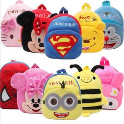 Toddler Kids Children Boys Girl Cartoon Backpack Schoolbag S