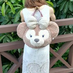 Tokyo Disney Sea ShellieMay Duffy Bear Face Plush Shoulder B
