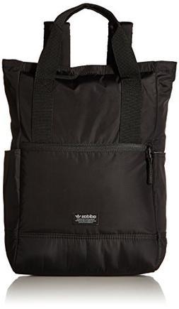 adidas Originals Tote II Backpack, Black, One Size