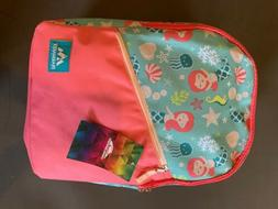 Trail Maker Mermaid Themed Girls School Back Pack New with T