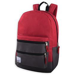 Trailmaker Multi-Color Backpack For Boys & Men With Padded S