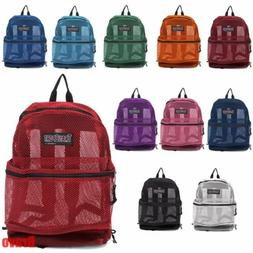 TRANSPORT MESH BACKPACK LARGE MULTI COLOR MESH BACKPACK BAG