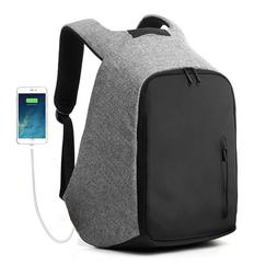 Travel Anti-Theft Backpack External USB Charge Port Laptop N