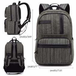 "Travel Backpacks For Men Woman School Bag 15.6"" laptop backp"