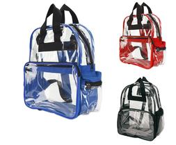 Travel Bag Unisex Transparent School Security Clear Backpack
