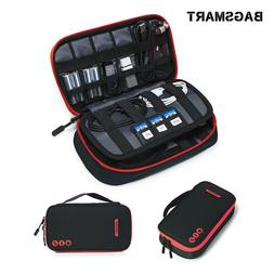 BAGSMART Electronic Accessories Thicken Cable Travel Organiz