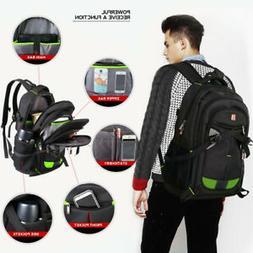 """Travel Gear ScanSmart Backpack Black Colors 17"""" Laptop"""