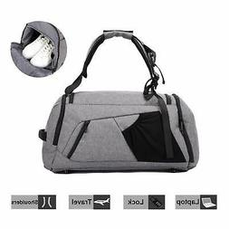 NeSus Travel Luggage Duffel Bag Lightweight Gym Bag Anti-the