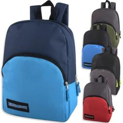 two tone 15 inch backpack