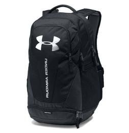 Under Armour UA HUSTLE 3.0 Storm™ Black Silver Backpack Bo