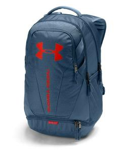 Under Armour UA Hustle 3.0 Storm Static Blue Pattern Backpac