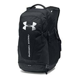 Under Armour UA Hustle 3.0 Storm™ Black Silver Backpack Bo