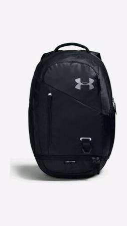 "Under Armour UA STORM Hustle 4.0 Backpack 19"" BLACK SILVER O"