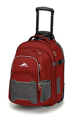High Sierra Ultimate Access 2.0 Carry On Wheeled Backpack, B