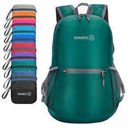 ZOMAKE Ultra Lightweight Packable Backpack Water Resistant H