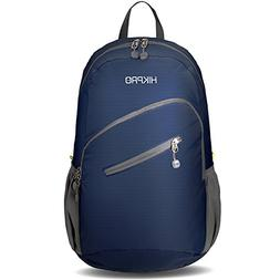 Hikpro Ultralight Packable Travel Backpack - Navy Blue, Larg