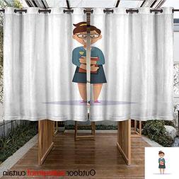 RenteriaDecor Outdoor Ultraviolet Protective Curtains Elemen