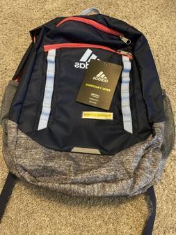 Adidas Unisex Excel V Backpack, Bookend Collegiate Navy/Pink