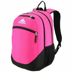 ADIDAS LARGE 3 COMPARTMENT BACKPACK ICE PINK AND WHITE | eBay