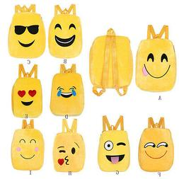 Unsiex Students School Backpack Bags Emoji Emoticon Messenge