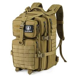 Upgraded SBS Zipper Tactical Molle Backpack, Barbarians 3 Da