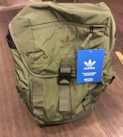 Adidas Urban Utility Backpack Bag School New Olive Green Sac