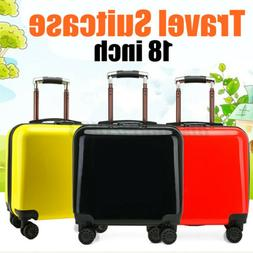 """US 18"""" Carry On Luggage With Wheels Kids Suitcase Backpack"""