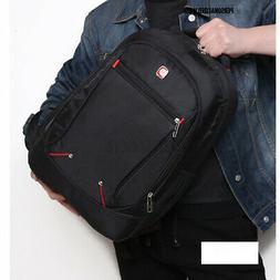 US Men Large School Backpack Sport Shoulder Bag Laptop Trave