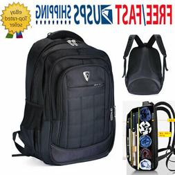 "USB 17"" Laptop Swiss Gear Backpack Waterproof Bussiness Tr"