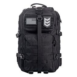 3V Gear Velox II Large Tactical Assault Backpack, MOLLE Comp