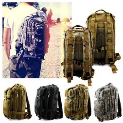 Vintage Mens Canvas Backpack Camping Travel Hiking Bag Sport