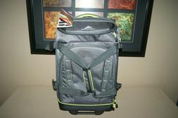"High Sierra Volusia 22"" Carry-On Upright Wheeled Duffel With"
