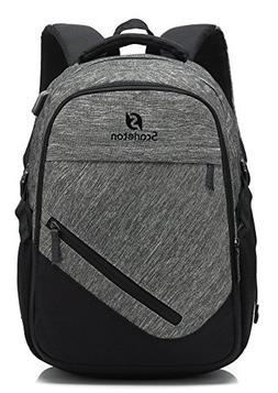 Scarleton Water Resistant Backpack H20410301 - Grey/Black