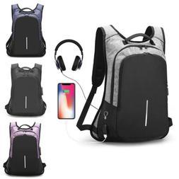 "Waterproof 15.6"" Laptop Backpack Men Women Anti-theft School"