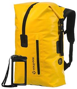 Earth Pak Waterproof Backpack: 35L / 55L Heavy Duty Roll-Top