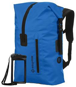 Earth Pak Waterproof Backpack: 35L / 55L Heavy Duty Roll-Top