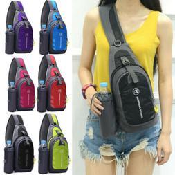 Waterproof Chest Bag Travel Sport Shoulder Sling Backpack Cr