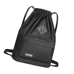 Waterproof Drawstring Sport Bag, Large Lightweight Gym Sackp