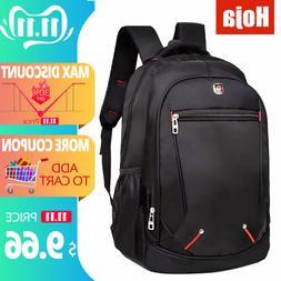 Waterproof Solid Large <font><b>Backpack</b></font> Men <fon