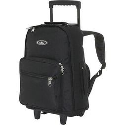 Everest Wheeled Backpack 3 Colors Rolling Backpack NEW