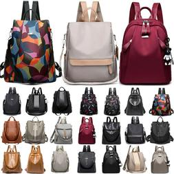Women Anti-Theft Waterproof Rucksack Backpack School Bags Tr