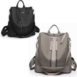 Women Backpack Nylon Shoulder Bags Travel Fashion Tote Schoo