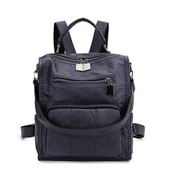 women backpack purse girls faux leather small