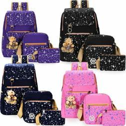 Women Bags Backpack Girl School Shoulder Bag Rucksack Canvas
