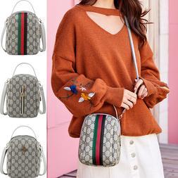 Women Bee Leather Handbag Lady Mini Backpack Shoulder Messen