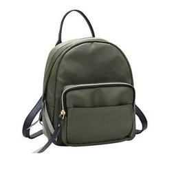 Women Fashion Backpack Purse Mini Casual Travel Daypack Nylo