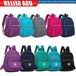 Women Girl Casua School Tiny Backpack Travel Bag Mochila Fem