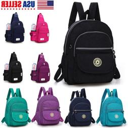 Women Girls Backpack Purse Nylon Small Backpack Cross Body M