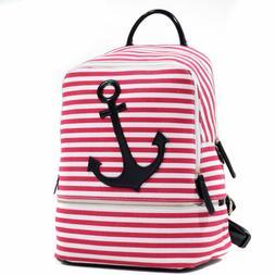Women Handbag Canvas Backpack Travel Rucksack School Bags w/